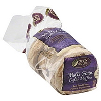 Open Nature English Muffins Multi Grain Food Product Image