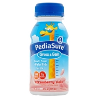 PediaSure Grow & Gain Shake Strawberry - 6 CT Food Product Image