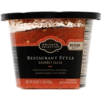 Private Selection Restaurant Style Gourmet Salsa - Medium Food Product Image