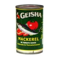 Geisha Geisha, Mackerel In Tomato Sauce With Chili Food Product Image