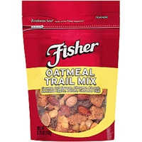Fisher Trail Mix Trail Mix Oatmeal Food Product Image