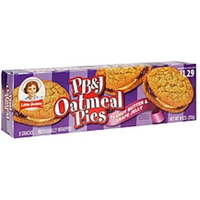 Little Debbie Pb&J Oatmeal Pies Peanut Butter & Grape Jelly, Pre-Priced Food Product Image