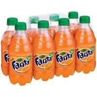 Fanta Orange Soda - 8 PK Food Product Image