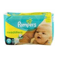 Pampers Swaddlers Size 2 / 12-18 lb - 32 CT Food Product Image