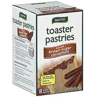 Spartan Toaster Pastries Frosted, Brown Sugar Cinnamon Food Product Image