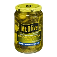 Mt. Olive Bread & Butter Chips Made with Sea Salt Food Product Image