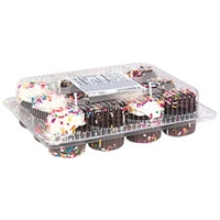 Freed's Bakery Specialty Chocolate Mini Cupcakes Food Product Image