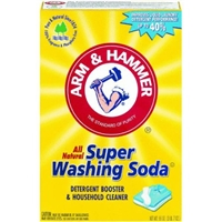 Arm & Hammer Super Washing Soda Household Cleaner & Laundry Booster Food Product Image
