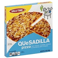 Valu Time Pizza Quesadilla Food Product Image