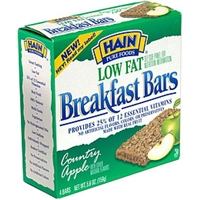 Hain Breakfast Bars Country Apple Food Product Image