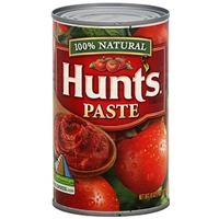 Hunt's 100% Natural Tomato Paste Food Product Image
