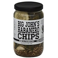 Preservation Cucumber Chips Dill, Big John's Habanero Chips, Spicy Food Product Image