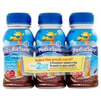 PediaSure Grow & Gain Shake Chocolate - 6 CT Food Product Image