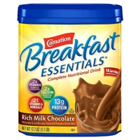 Carnation Breakfast Essentials Powder Drink Mix 17.7 oz Food Product Image