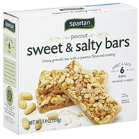 Spartan Granola Bars Sweet & Salty, Peanut Food Product Image