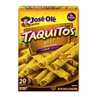 Jose Ole Shredded Steak Taquitos Food Product Image