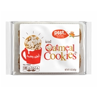 p$$t... Iced Oatmeal Cookies Food Product Image