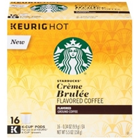 Starbucks Crme Brulee Flavored Ground Coffee - 5.5 oz Food Product Image