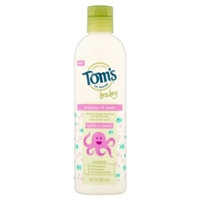 Tom's of Maine Baby Shampoo & Wash Lightly Scented Food Product Image