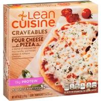 Lean Cuisine Craveables Four Cheese Pizza Food Product Image