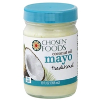 Chosen Foods Coconut Oil Mayo 12oz Food Product Image