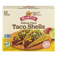 Bearitos Yellow Corn Taco Shells - 12 CT Food Product Image