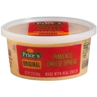 Price's Pimiento Cheese Spread Original Food Product Image