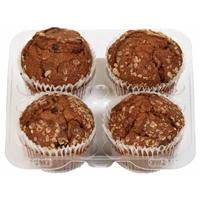 Bakery Fresh Goodness Honey Raisin Bran Muffins 4ct Food Product Image