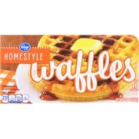 Kroger Homestyle Waffles Food Product Image