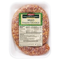 Wegmans Hot Dogs & Sausages Mild Italian Sausage Food Product Image