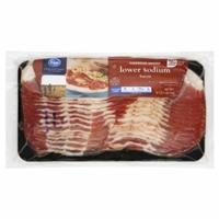 Kroger Hardwood Smoked Lower Sodium Bacon Food Product Image