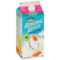 Blue Diamond Almonds Almond Breeze Almond Coconut Blend Original Unsweetened Food Product Image