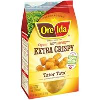 Ore-Ida Tater Tots Extra Crispy Food Product Image