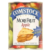 Comstock More Fruit Apple Pie Filling or Topping 21 oz Food Product Image