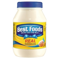 Best Foods Real Mayonnaise 30 oz Food Product Image