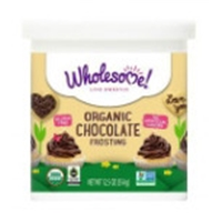 Wholesome! Organic Chocolate Frosting Food Product Image