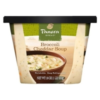 Panera Bread Broccoli Cheddar Soup 16 oz ingredient and nutritional ...