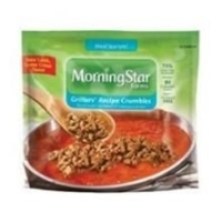 Morningstar Farms Meal Starter Griller Recipe Crumble Food Product Image