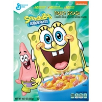 General Mills Spongebob Square Pants Cereal Food Product Image