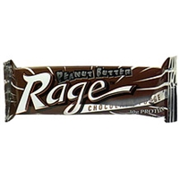 Peanut Butter Rage Peanut Butter Covered Protein Bar Chocolate Fudge Food Product Image
