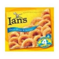 Ian's Gluten Free Onion Rings Food Product Image