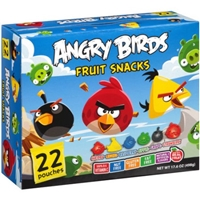 Angry Birds Fruit Snacks, 22 count, 17.6 oz Food Product Image