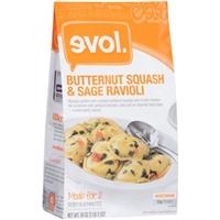 evol. Ravioli Butternut Squash & Sage Food Product Image