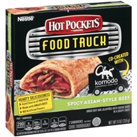 Hot Pockets Food Truck Sandwiches Spicy Asian- Style Beef - 2 CT Food Product Image