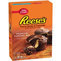 Betty Crocker Reese's Peanut Butter and Chocolate Cupcake Mix Food Product Image