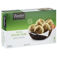Essential Everyday Dinner Rolls Garlic Food Product Image