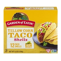 Garden of Eatin' Yellow Corn Taco Shells - 12 CT Food Product Image