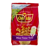 Ore-Ida Seasoned Shredded Mini Tater Tots Food Product Image