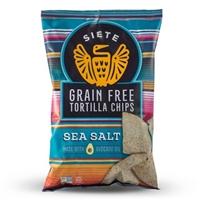 Siete Sea Salt Tortilla Chips - 5oz Food Product Image