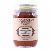 Local Folks Foods Hot Salsa Product Image